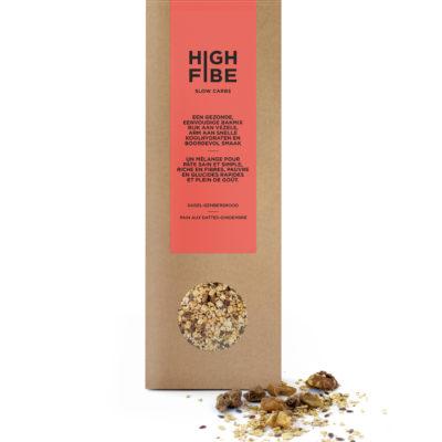 HighFibe Broodmix Dadel-Gember