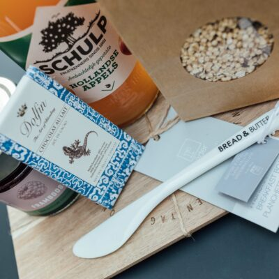Ontbijtplank geschenkpakket