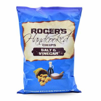 Roger's aardappelchips met zeezout en azijnsmaak 150gr