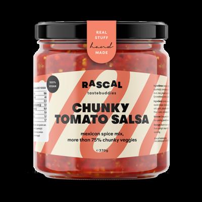 Rascal Tastebuddies Chunky Tomato Salsa 370gr