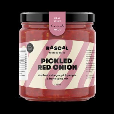 Rascal Tastebuddies Pickled Red Onion 360gr