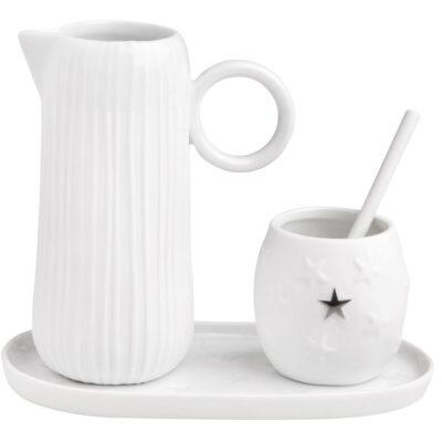 Set voor melk en suiker Stars & Stripes